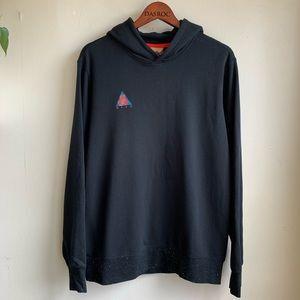 Nike ACG BLACK Loose Fit Pullover Hoodie Sz M NWT